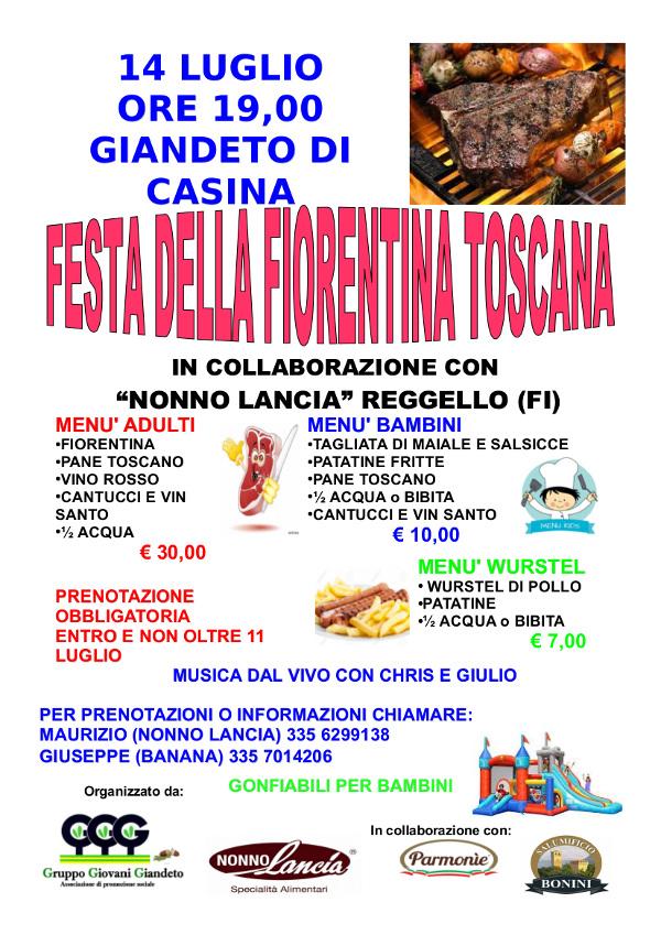 Festa della Fiorentina Toscana