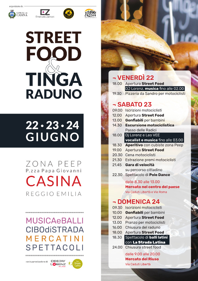 Street Food e TingaRaduno